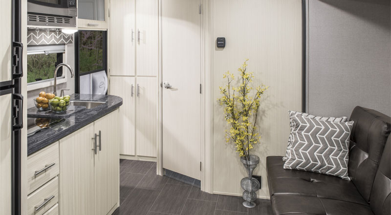 2018 Livin' Lite CampLite CL16DBS Travel Trailer Kitchen