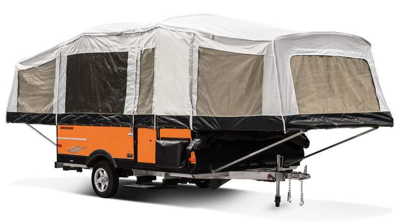 Livin' Lite Ultra Lightweight, All-Aluminum Tent Campers