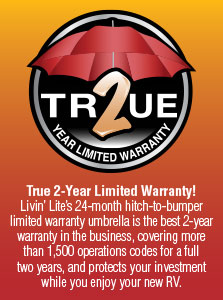 K-Z RV True 2 Year Limited Warranty Poster